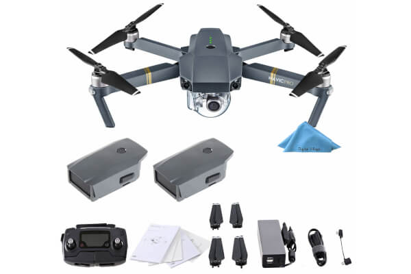 DJI Mavic Pro 4K Quadcopter with Remote Controller