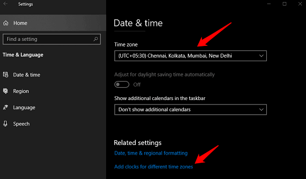 Fix Time Not Updating or Syncing in Windows 10 2