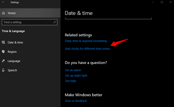 Fix Time Not Updating or Syncing in Windows 10 4