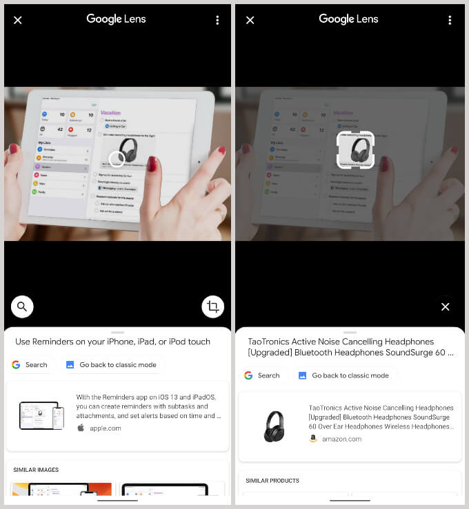 Google Lens powered image search in Chrome