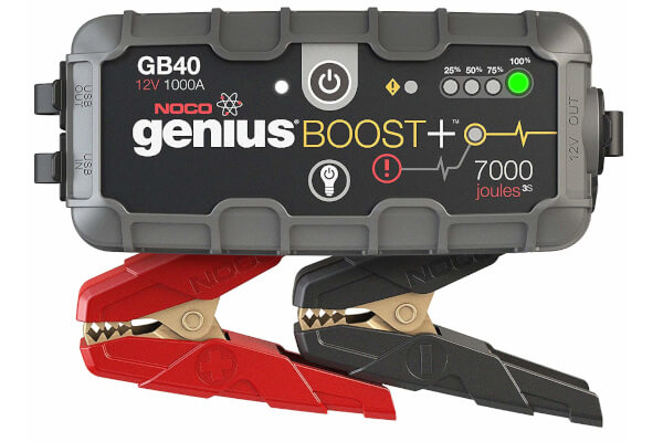 NOCO Boost Plus GB40 1000 Amp 12-Volt UltraSafe Portable Lithium Car Battery Jump Starter Pack