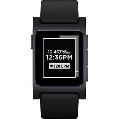 Pebble 2 smartwatch with E-paper display