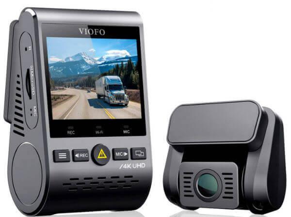 VIOFO A129PRO Dual Dash Cam Design