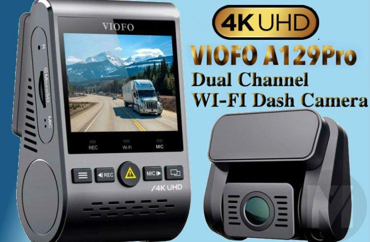 VIOFO A129Pro 4K Dual DashCam Review