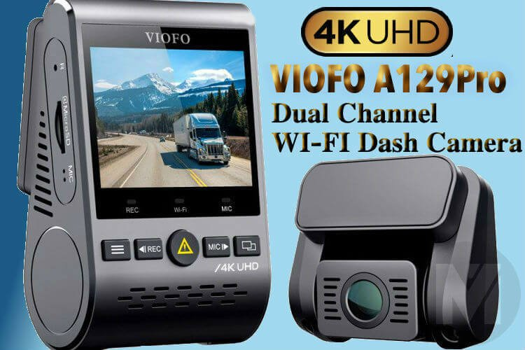 VIOFO A129Pro: 4K Dual Dash Cam with GPS & Parking Mode Support