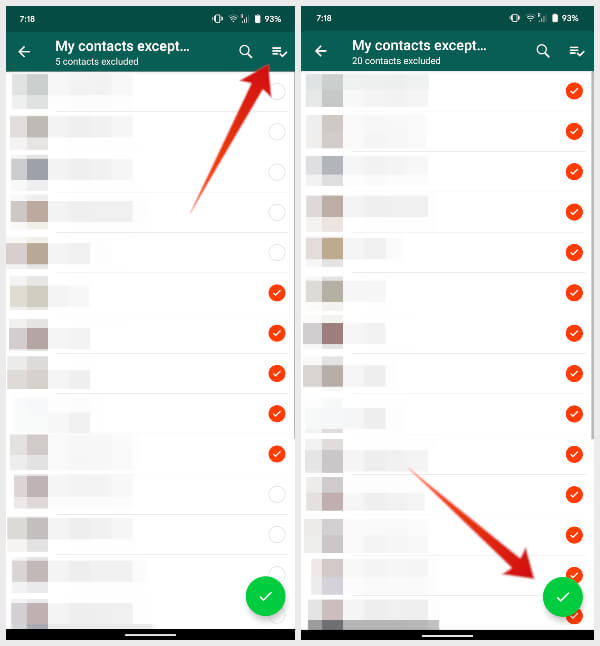 Stop specific or all contacts from adding you to WhatsApp groups