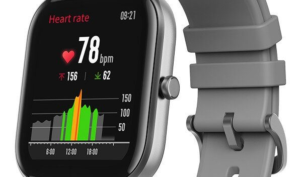 Heartrate Monitoring Amazfit GTS