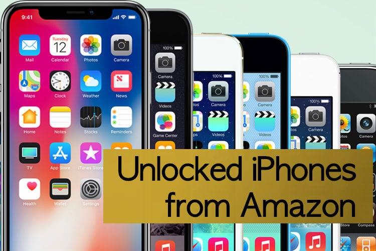 Best Unlocked iPhones from Amazon