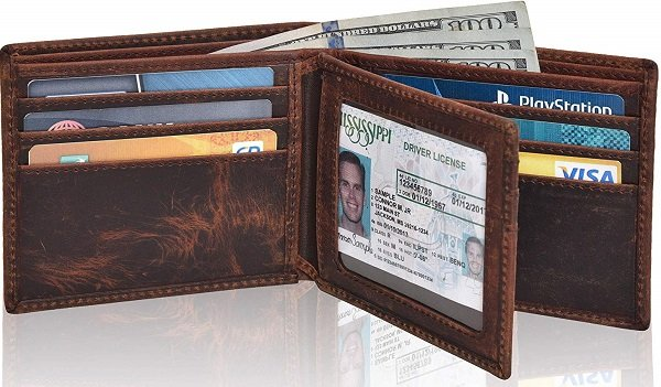 Clifton Heritage RFID blocking Wallet