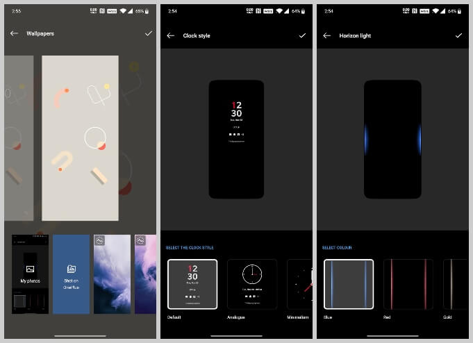 customize Android 10 lockscreen on OnePlus