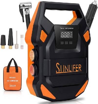 Sunlifer Car 12 Volt Air Compressor