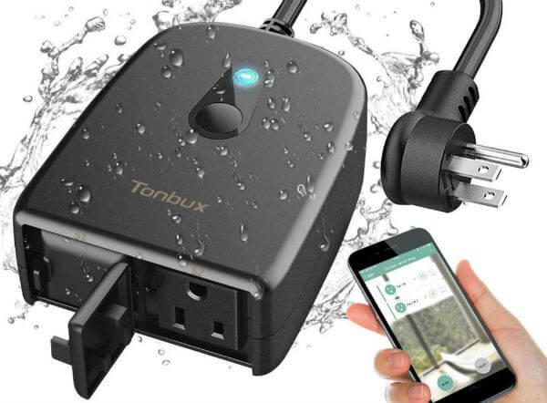 TONBUX Outdoor Smart Plug