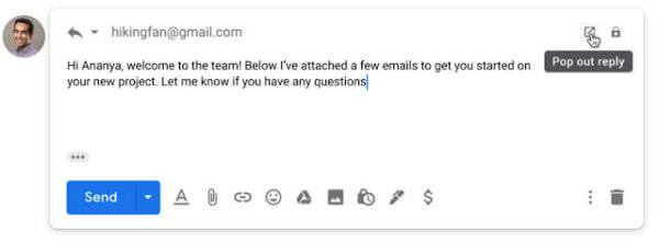 send email as attachment in gmail reply