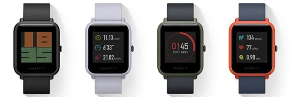 Amazfit Bip Review Models