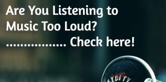 Are You Listening to Music Too Loud Check on iPhone