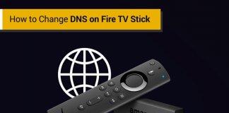 Change DNS Fire TV Stick