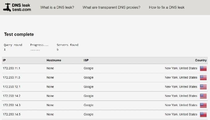 Prevent DNS Leak