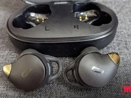 TaoTronics SoundLiberty 79 Case and Earbuds