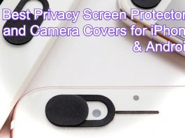 Best Privacy Screen Protectors and Camera Covers for iPhone & Android Phones