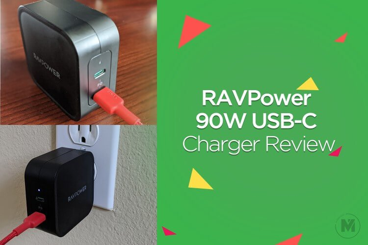 RAVPower 90W PD Charger Review:- Powerful USB-C Supply for two Laptops
