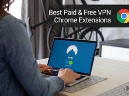 Paid and Free VPN Chrome Extensions