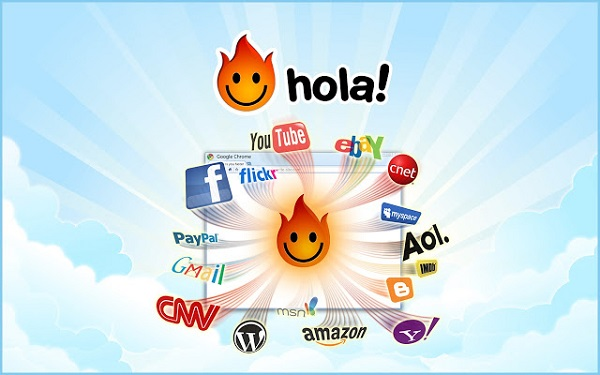 hola chrome vpn extension