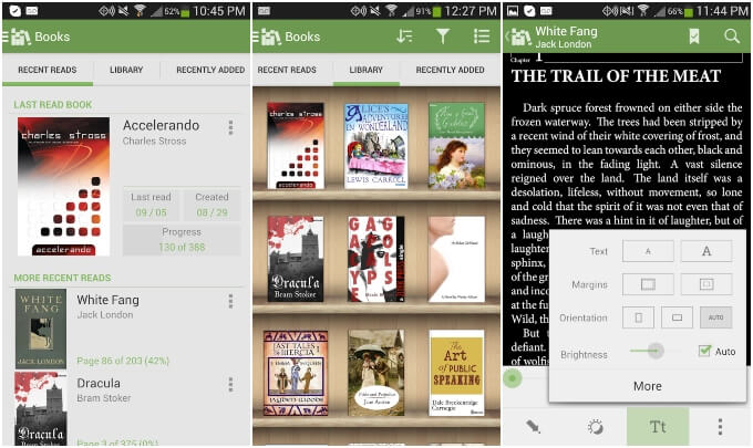 Aldiko ePub Book Reader for Android