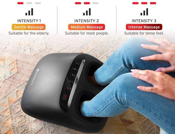 Etekcity Foot Massager Modes