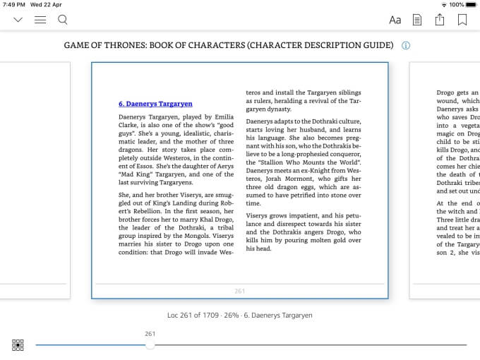 Kindle ePub reader for iPad