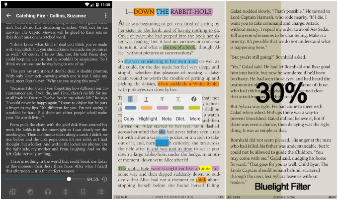 Moon+ ePub Reader for Android