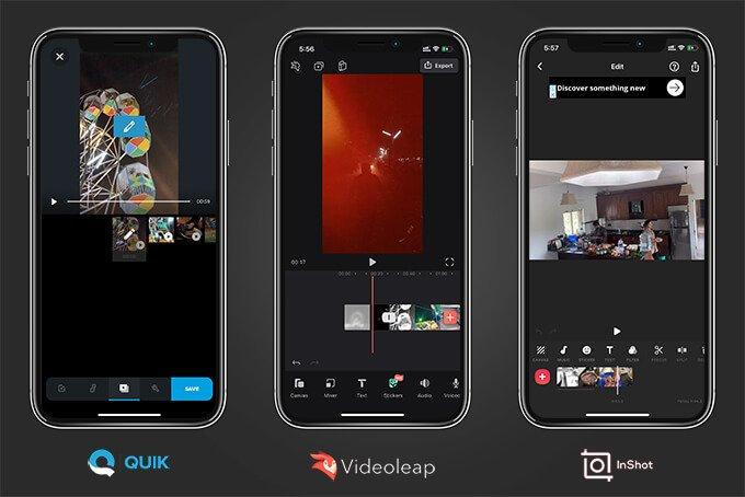 Third-Party Video Editing Apps to Combine Videos