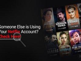 Check Netflix User Device Activity
