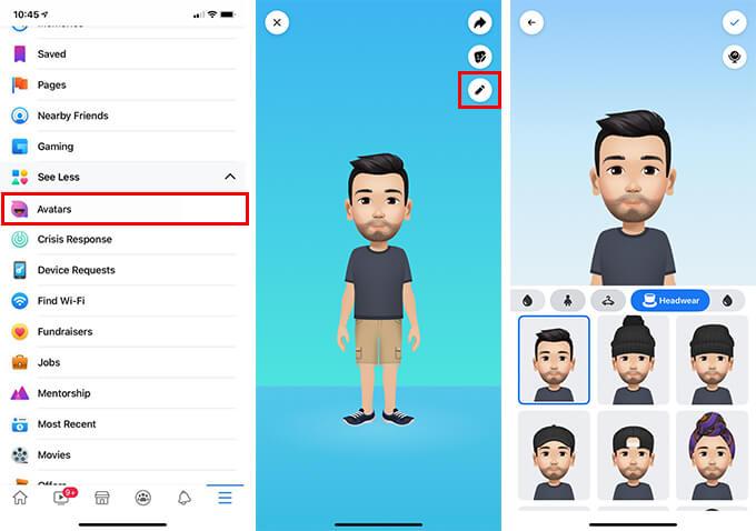 How to Edit Facebook Avatar