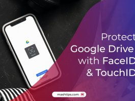 How to Secure Google Drive with FaceID and TouchID on iPhone and iPad
