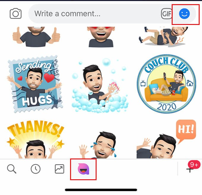 How to Use Facebook Avatar Stickers on Post Comments