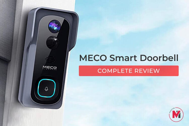 MECO Smart Video Doorbell Review: No Need to Pay for Cloud Storage Any More!