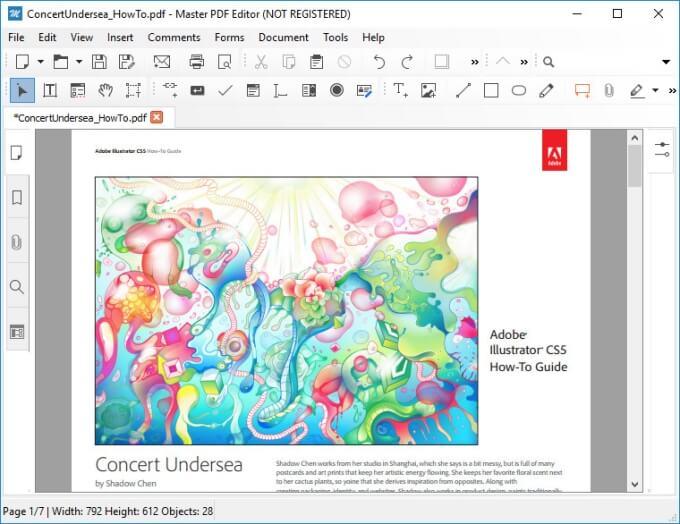 Master PDF: Adobe Acrobat Reader Alternative