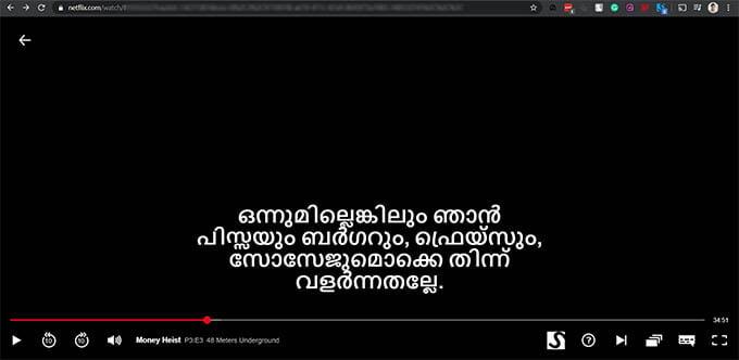Add Custom Subtitles on Netflix and watch