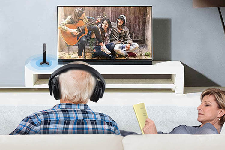 Avantree HT280: Loud Wireless TV Headphones for Seniors & Hearing Impaired