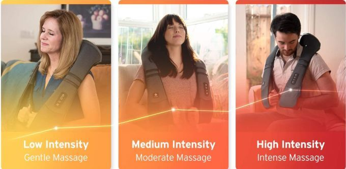 Etekcity Neck Massager Modes