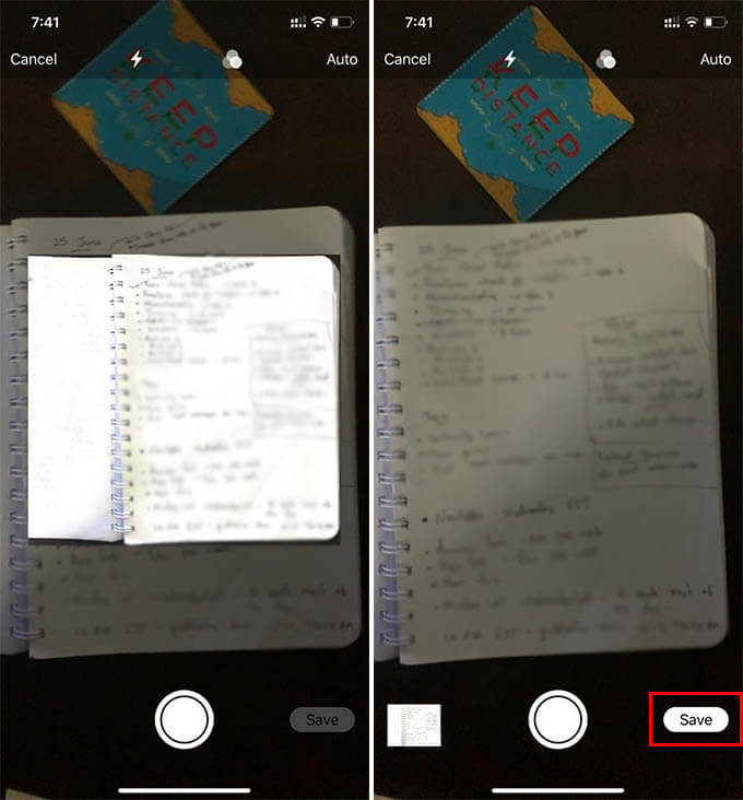 How to Scan a Document on Mac Using iPhone Camera