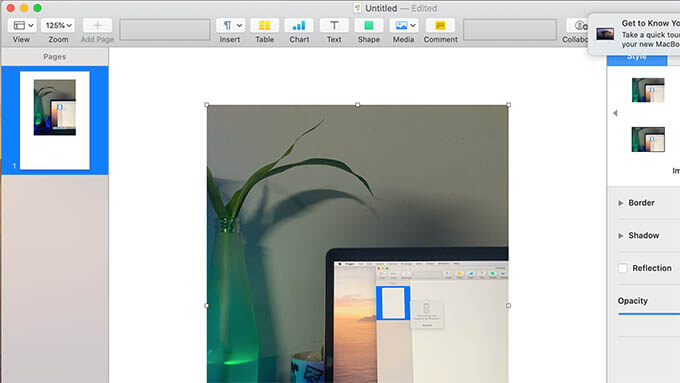 Import Captured picture from iPhone to Mac
