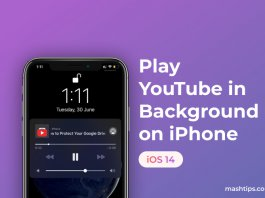 Play YouTube in Background on iPhone with iOS 14