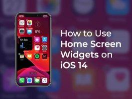 Use iPhone Home Screen Widgets on iOS 14