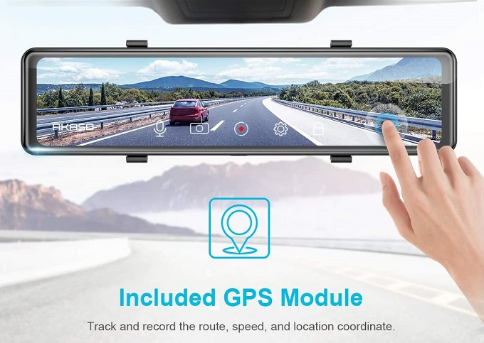 Akaso DL12 MIrror Dashcam GPS Module