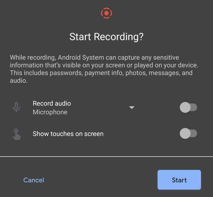 Android-11-Screen-Recorder