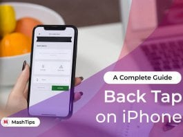 Back Tap on iPhone iOS 14 Complete Guide