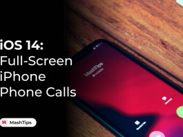 Enable Full Screen iPhone Incoming Calls on iOS 14