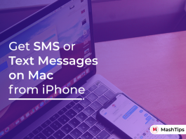 How to Get Text Messages on Mac from iPhone