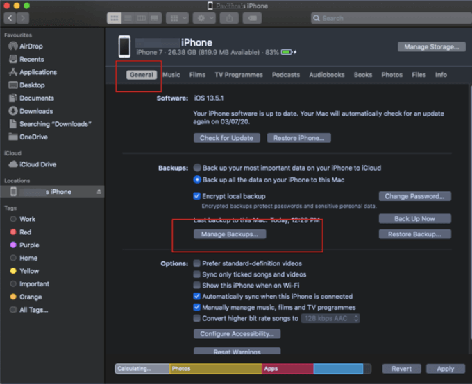 How to Backup iPhone to Mac and PC | MashTips